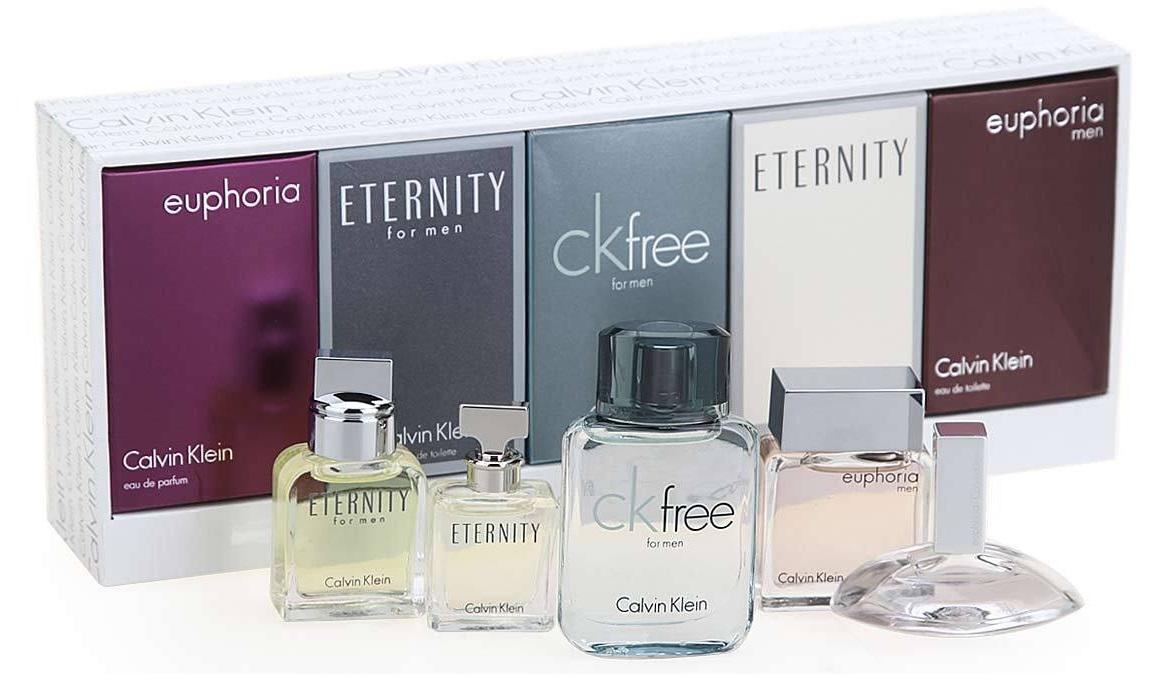 582c38e5fd64f Eternity Euphoria CK FREE Calvin Klein Mens COLOGNE Women s PERFUME MINI  SET NEW