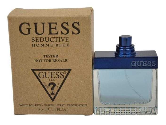 23aa49978f GUESS SEDUCTIVE Homme BLUE 1.7 oz Eau de Toilette Men's Spray Cologne new  TESTER
