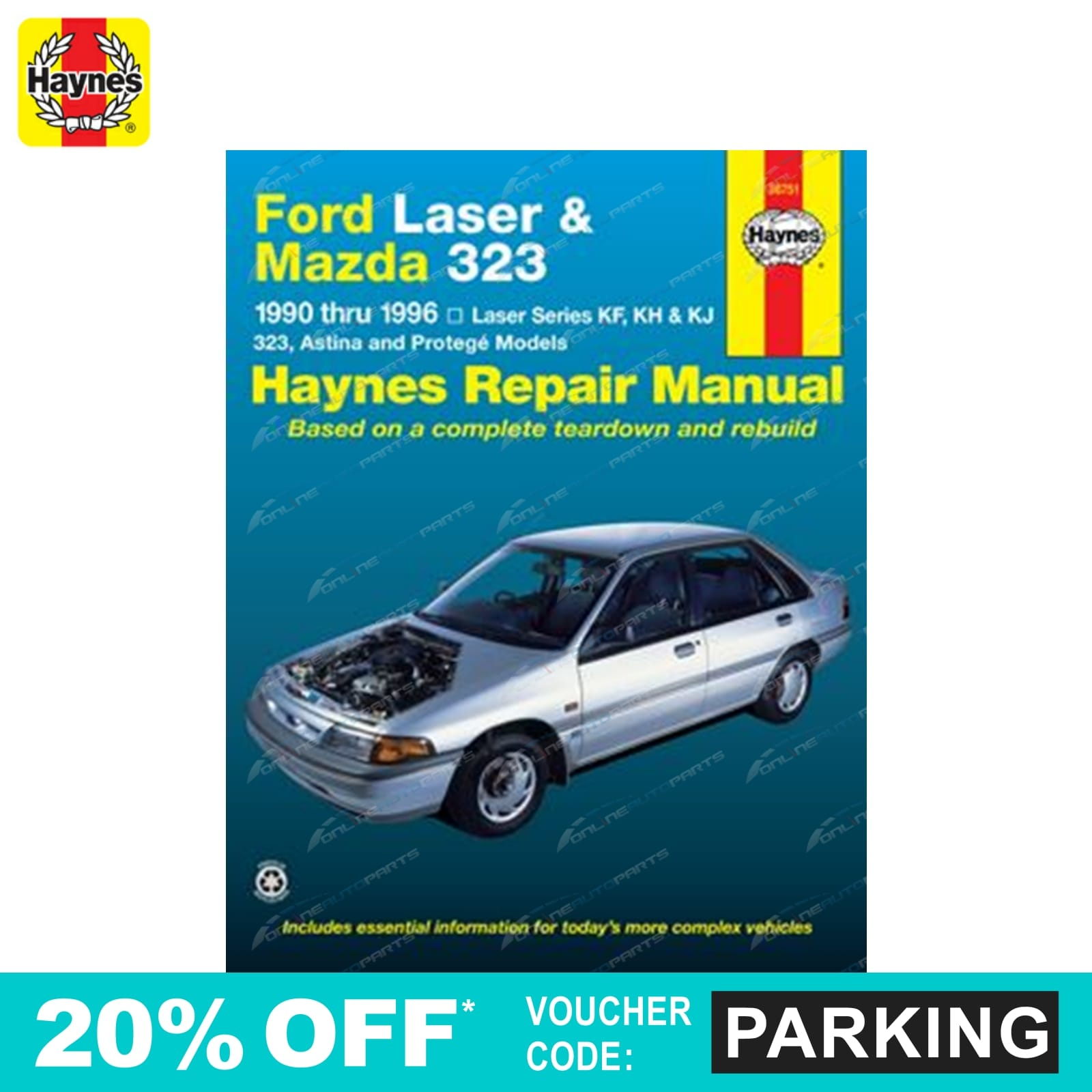 haynes car repair manual book mazda 323 ba bg 1989 1998 incl astina rh ebay com au Workshop Manuals Oilfield Well Testing Ford Workshop Manuals