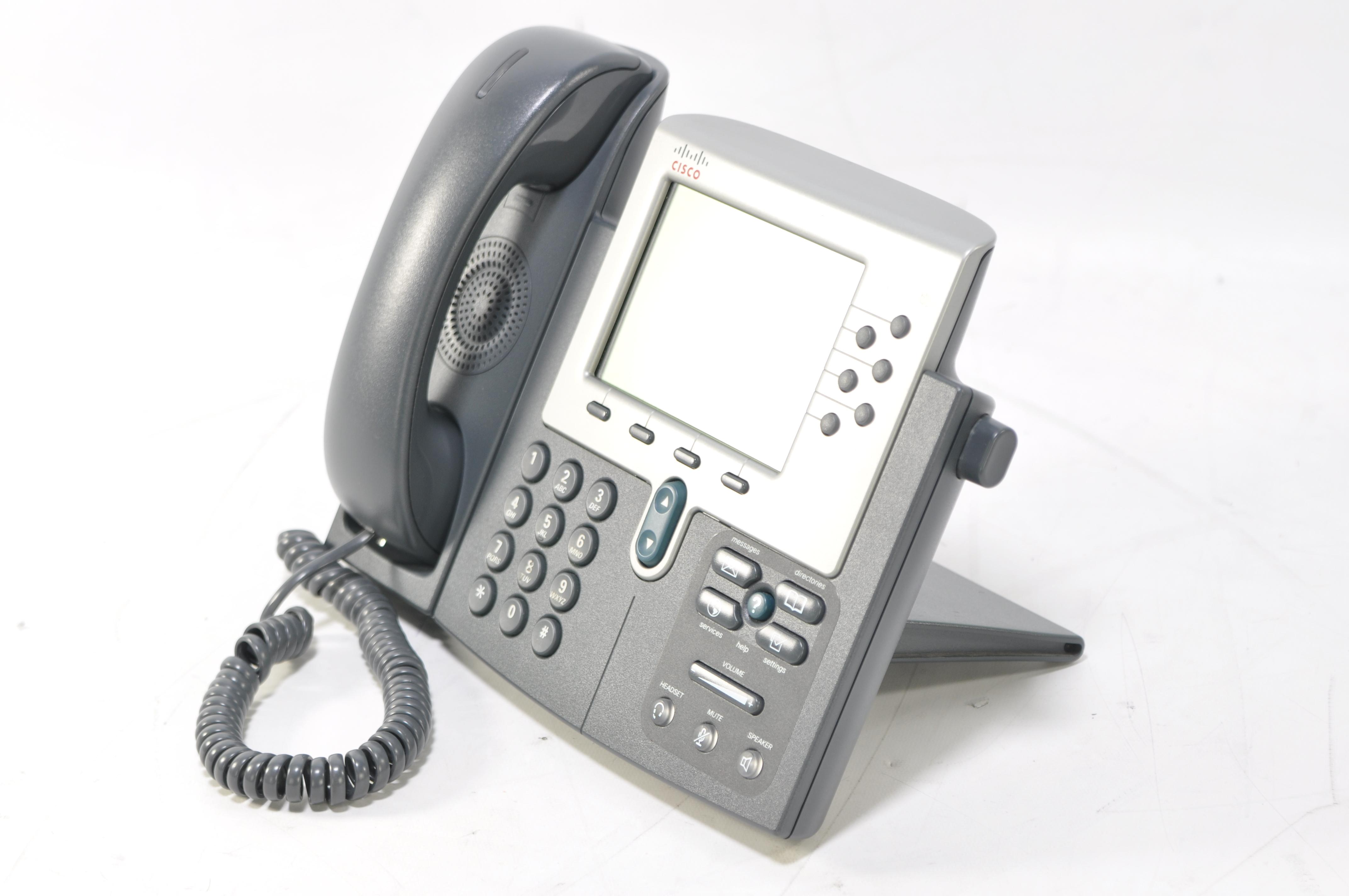 Cisco phones manual 7961
