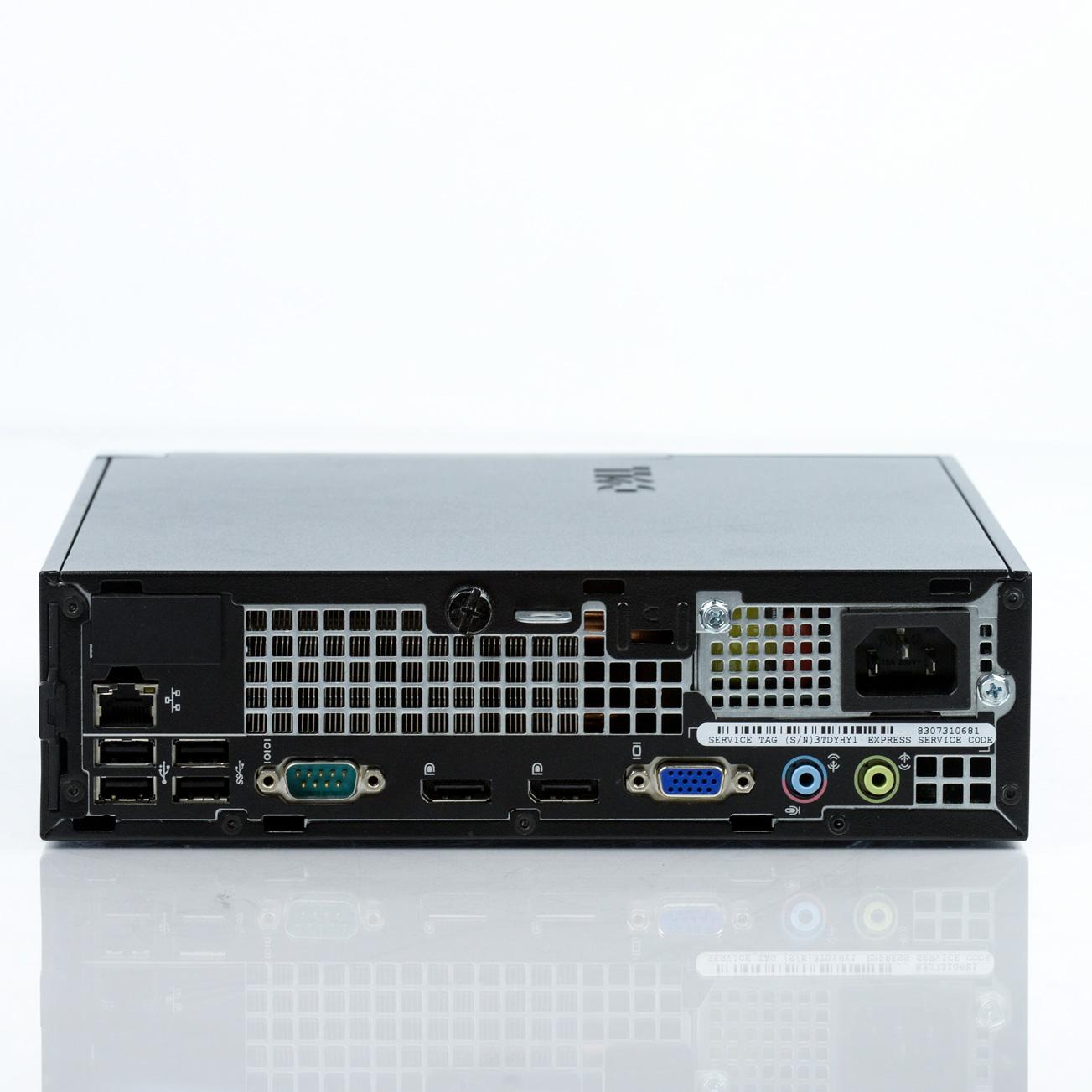 Dell Optiplex 7010 USFF Core i5-3470S 2.9GHz 4GB 250GB Win 7 Pro 1 Yr Wty