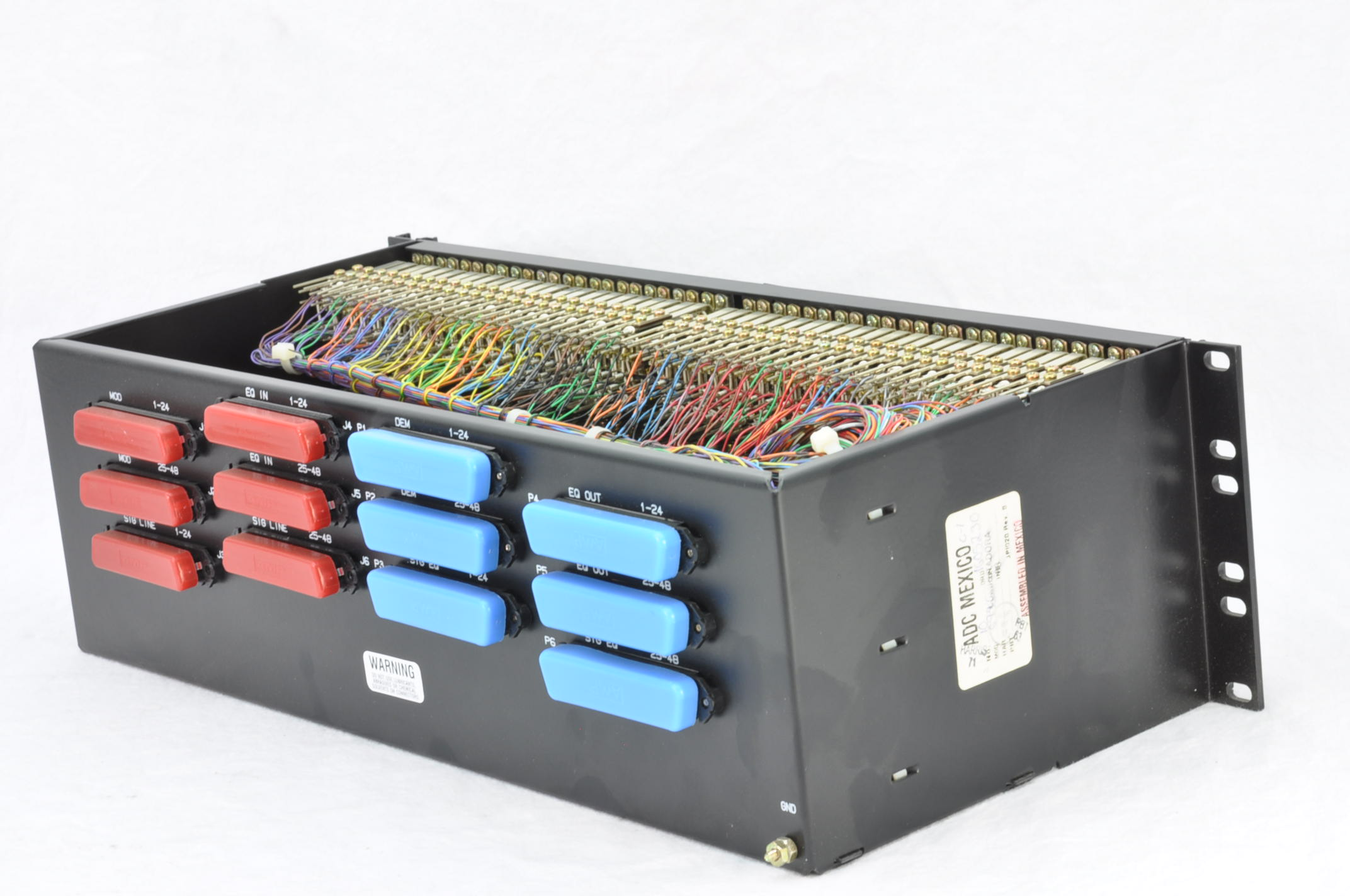 adc jc6/48m 6-wire 48-circuit bantam connectorized ... bantam jack wiring