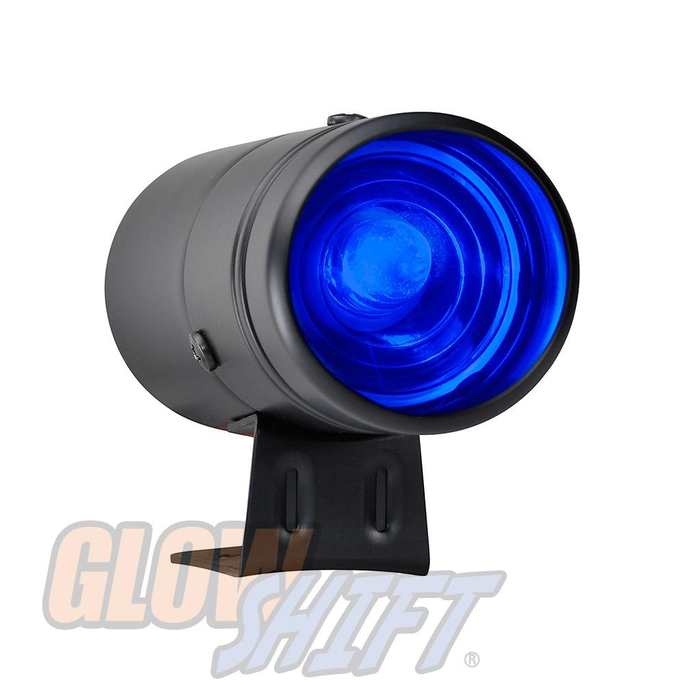 Black Adjustable Shift Light W Blue Leds Eclipse 90