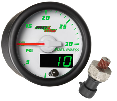 13_ebay_white_maxtow_30_fuel_small 00 06 chevy silverado duramax triple pillar white maxtow diesel glowshift fuel pressure gauge wiring diagram at alyssarenee.co