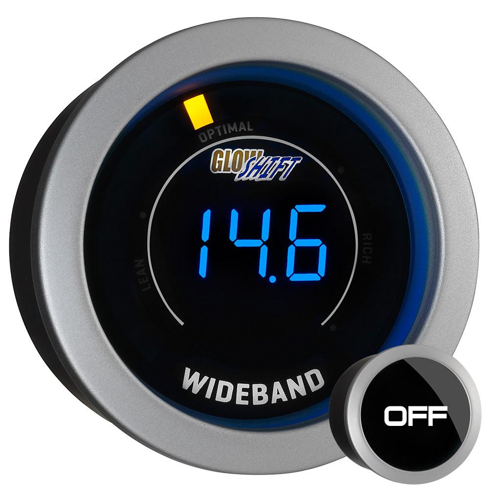 52mm glowshift tinted digital led wideband airfuel ratio. Black Bedroom Furniture Sets. Home Design Ideas