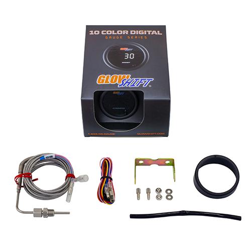 glowshift 10 color digital pyrometer egt gauge
