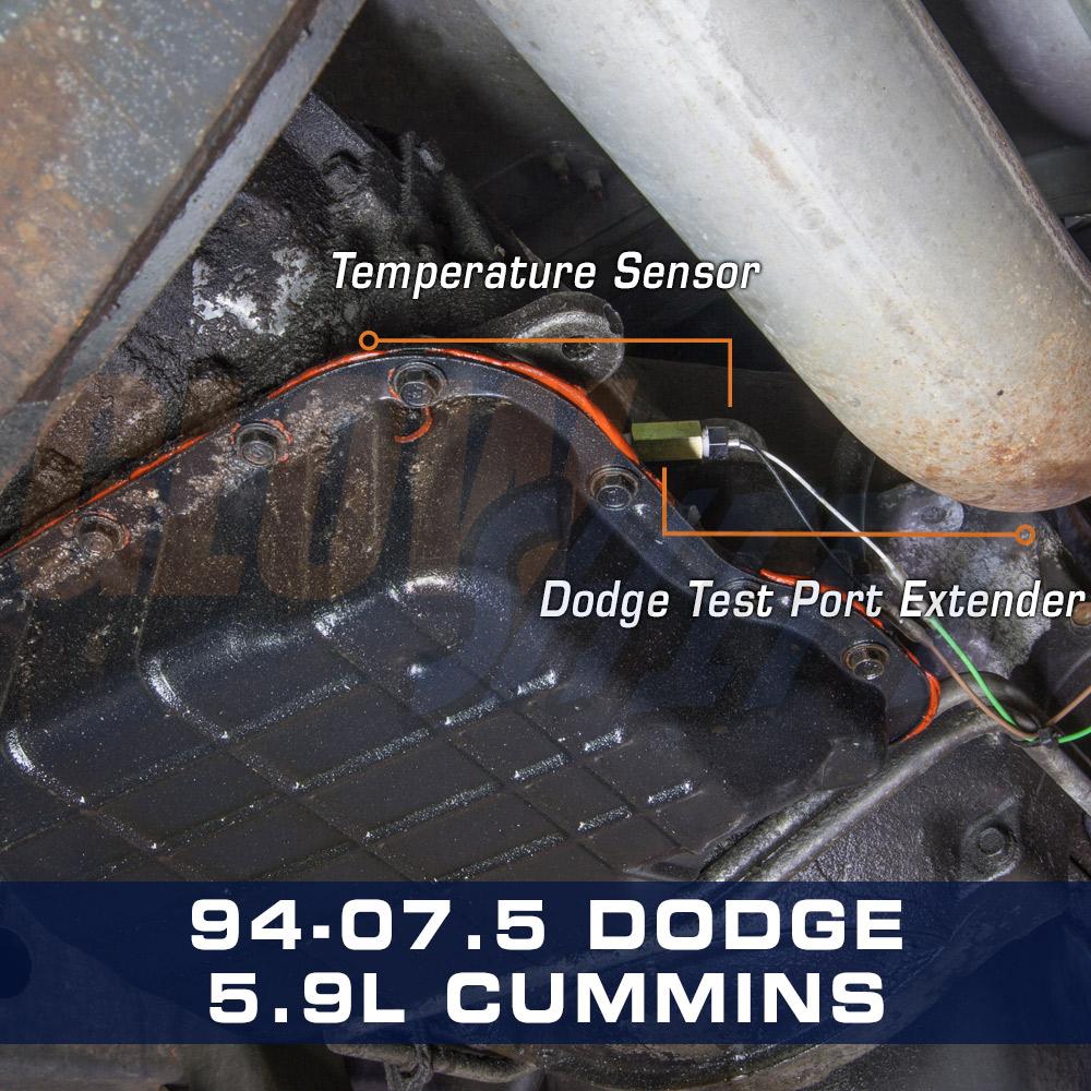 Details about Universal Transmission Test Port Temperature Temp Sensor  Sender Extender Adapter