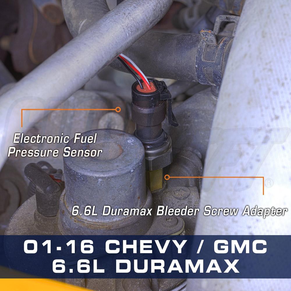 2001 2016 chevy gm 6 6l duramax bleeder screw fuel