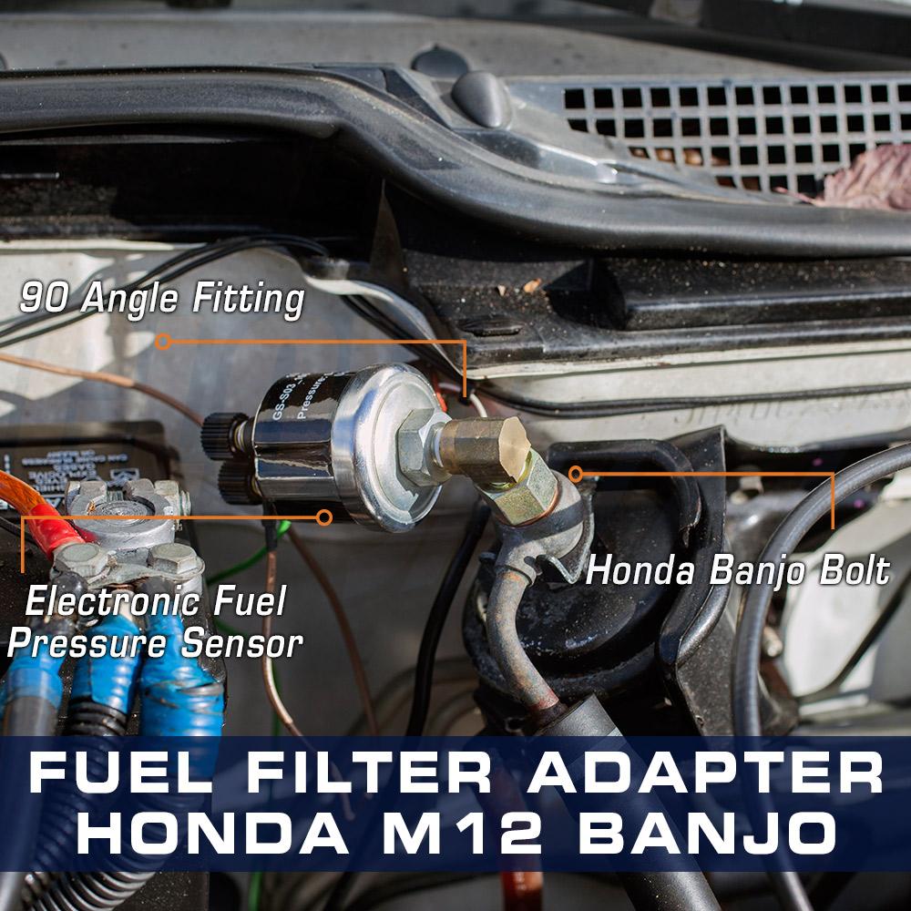 Honda Fuel Pressure Banjo Bolt Adapter