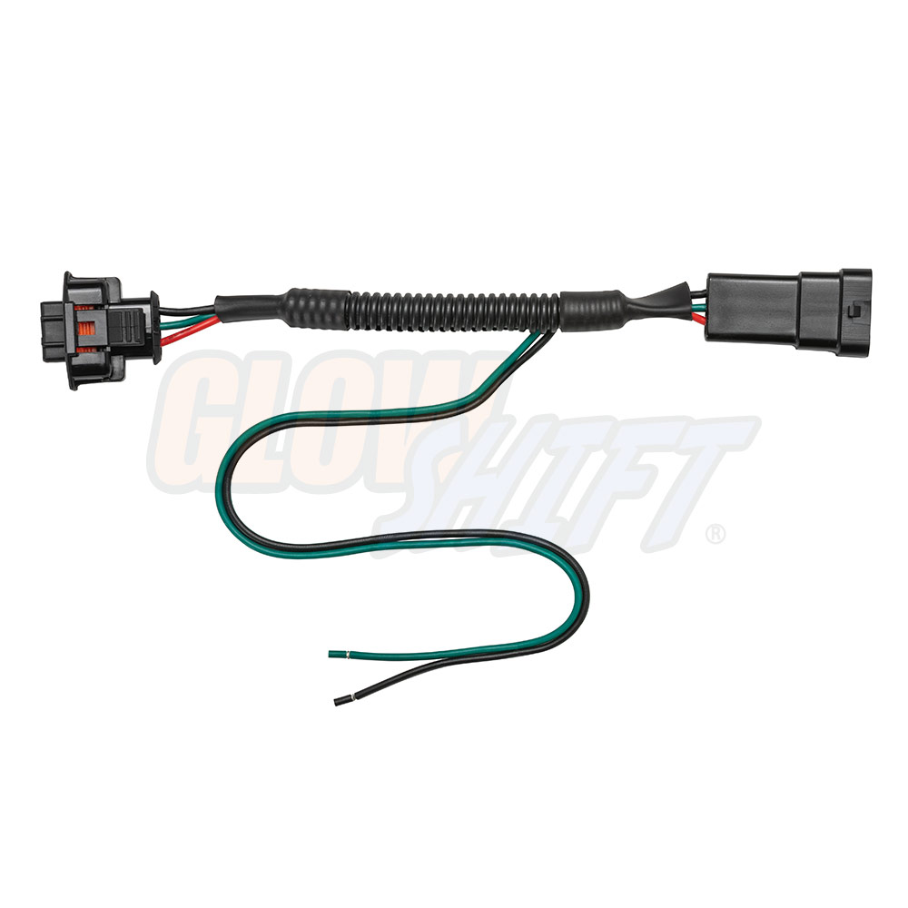 Glowshift Fuel Rail Pressure Psi Gauge Pigtail Wiring Manual Guide