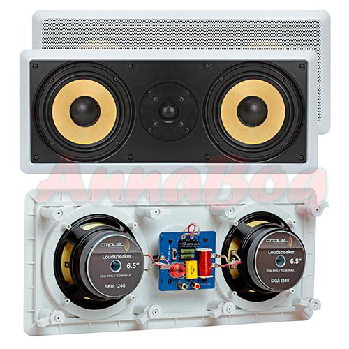 In Wall Ceiling Home Theater Speakers