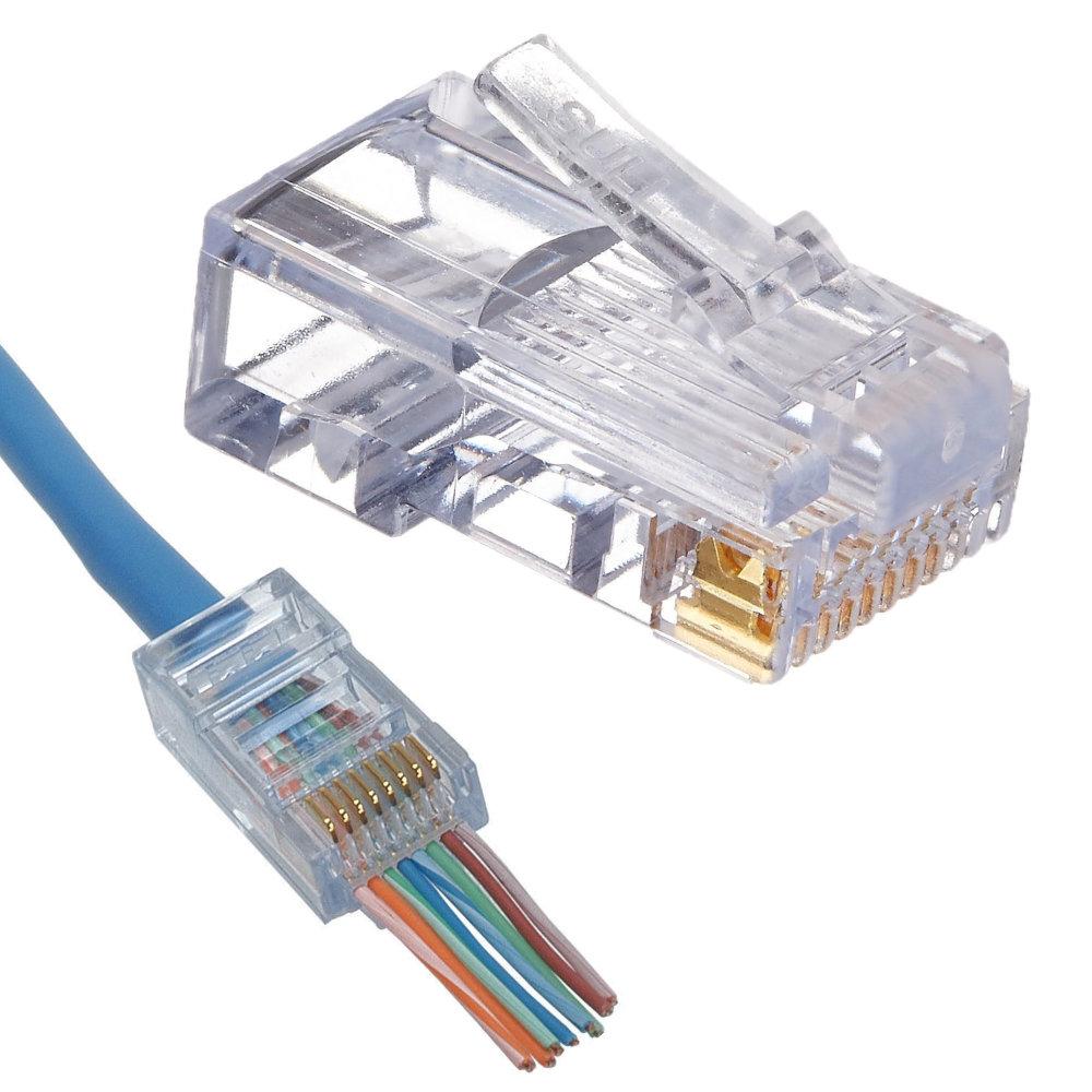 wiring cat6 connector explore wiring diagram on the net • platinum tools 100010c pack of 50 cat6 ez rj45 connectors wiring cat6 connector cat6 connector wiring diagram