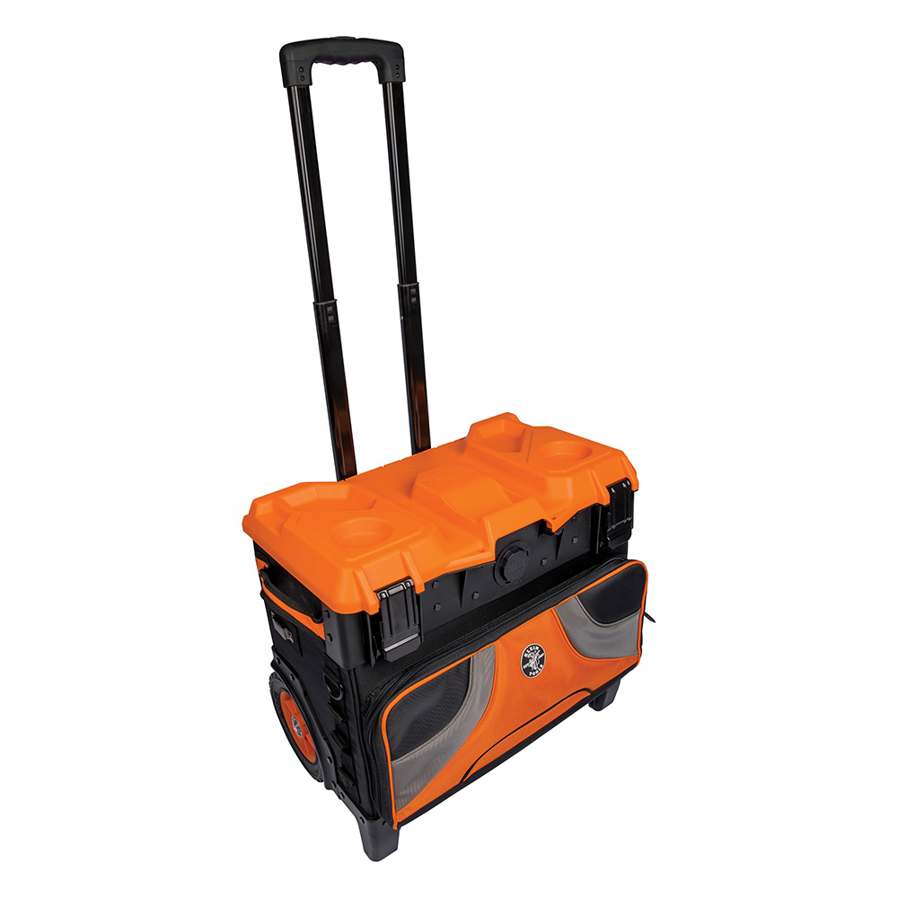 details about klein tools 55473rtb tradesman pro master rolling tool bag