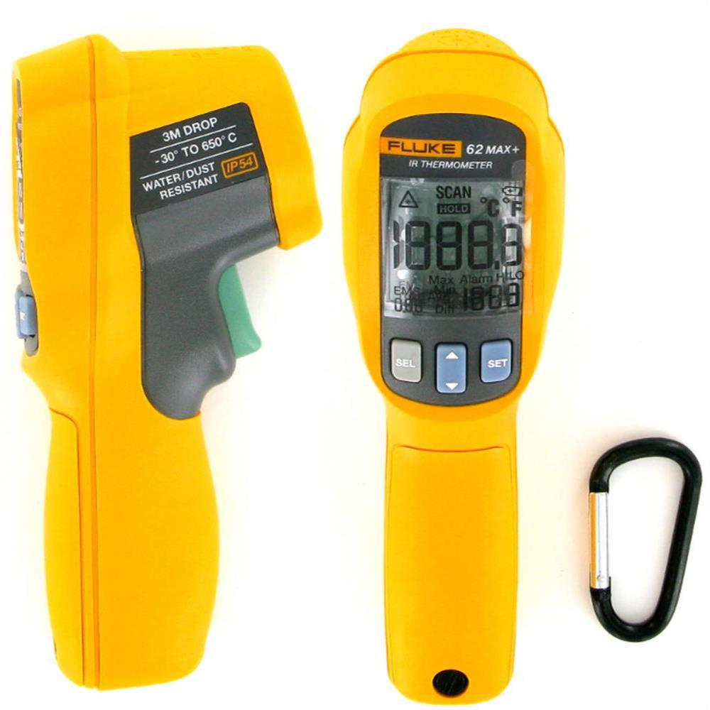 Fluke 62 Max Plus (+) Dual Laser Infrared Thermometer  ed0ce32d06cfe