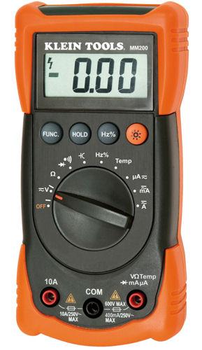 New Klein Tools Mm200 Auto Ranging Multimeter Ebay