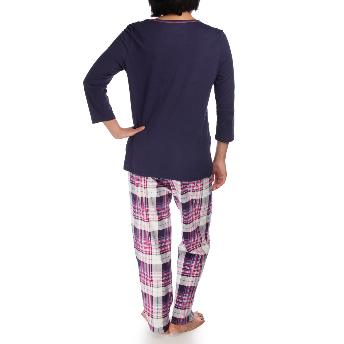 2-Piece-Jockey-Soft-Cotton-Pajamas-For-Women-Set-Top-Bottom-PJs-Sleepwear thumbnail 10