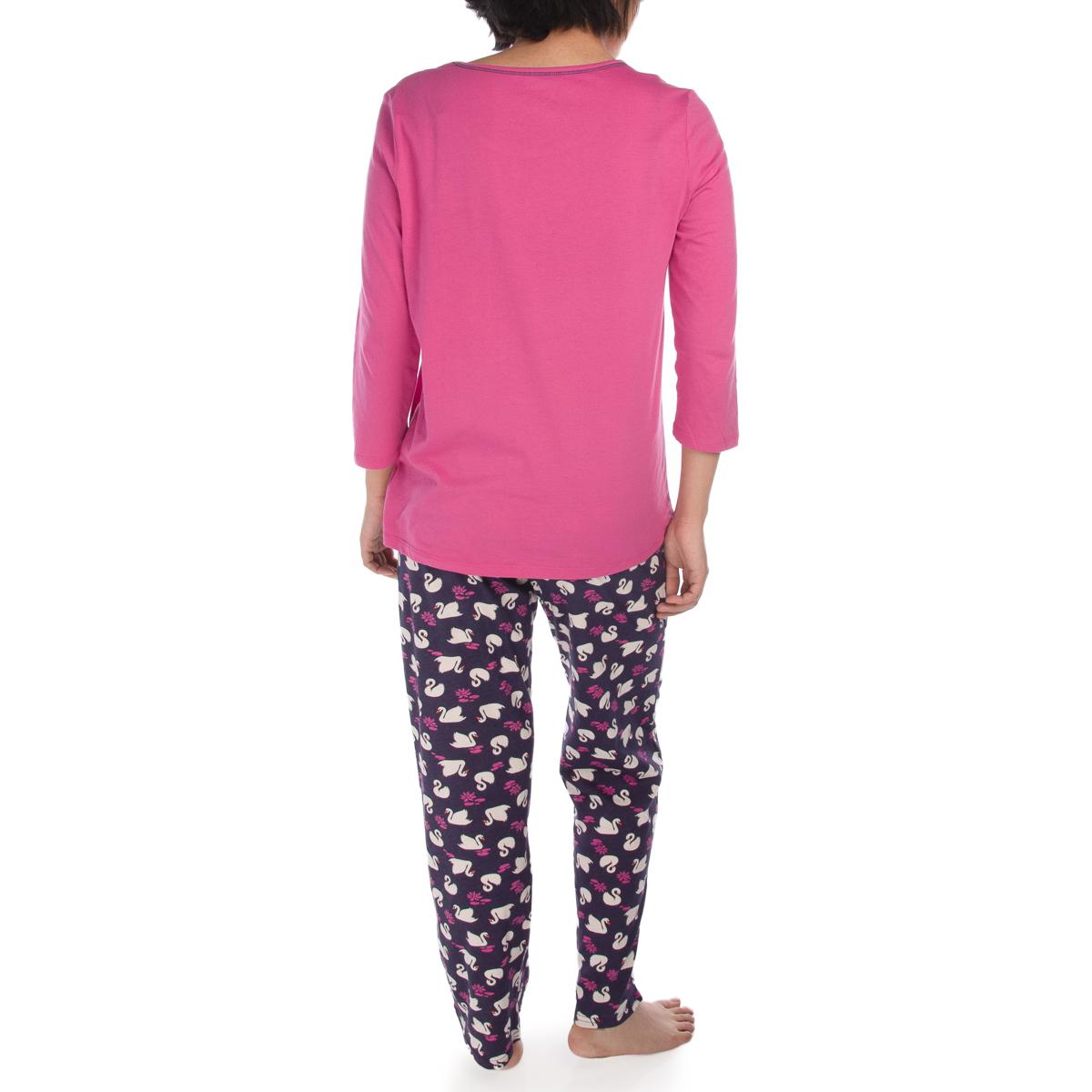 2-Piece-Jockey-Soft-Cotton-Pajamas-For-Women-Set-Top-Bottom-PJs-Sleepwear thumbnail 14
