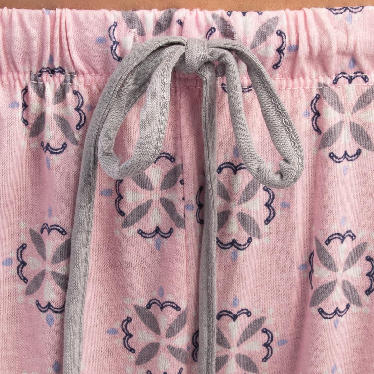 2-Piece-Jockey-Cotton-Pajamas-For-Women-Set-Long-Sleeve-Top-Bottom-PJs-Sleepwear thumbnail 9