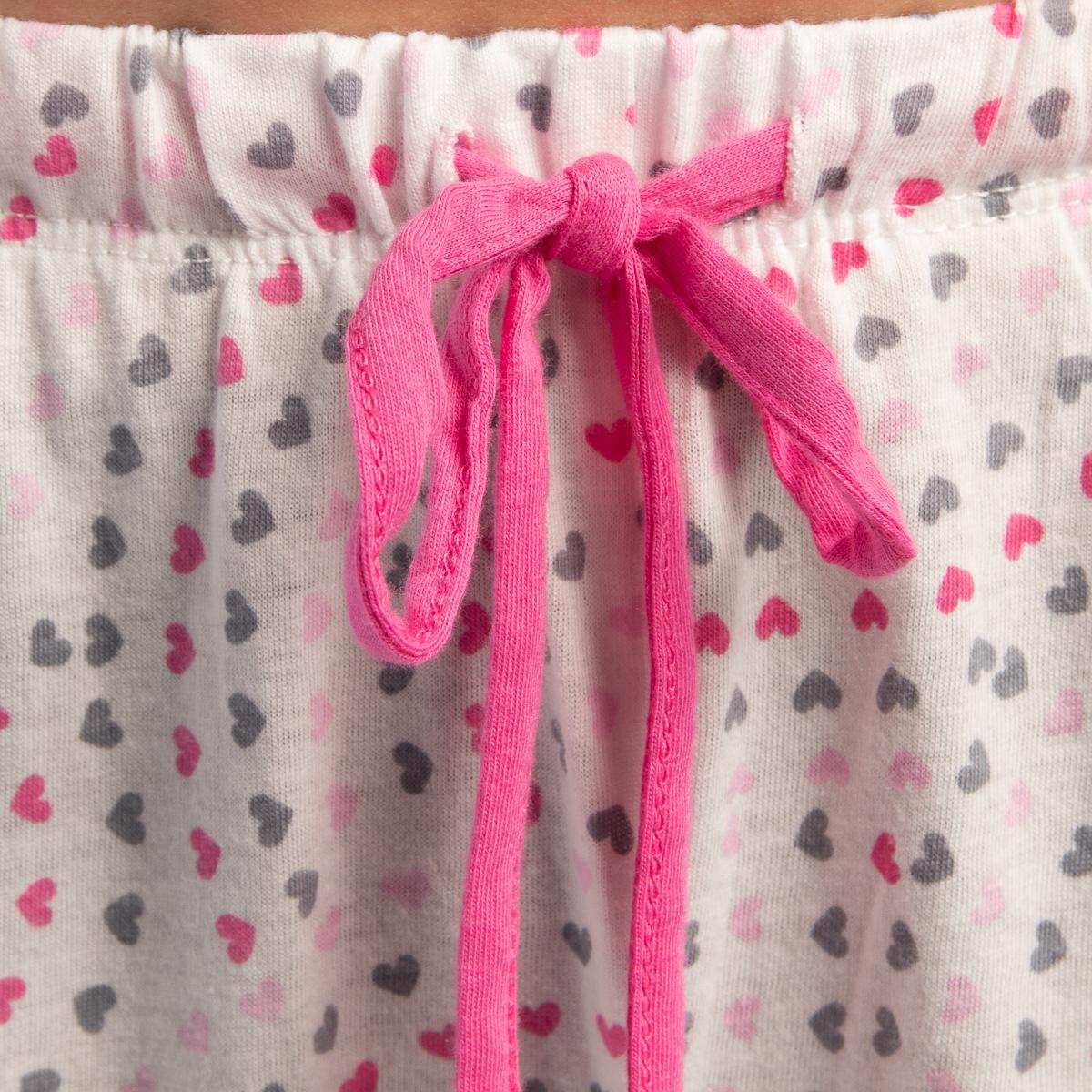 2-Piece-Jockey-Cotton-Pajamas-For-Women-Set-Long-Sleeve-Top-Bottom-PJs-Sleepwear thumbnail 13