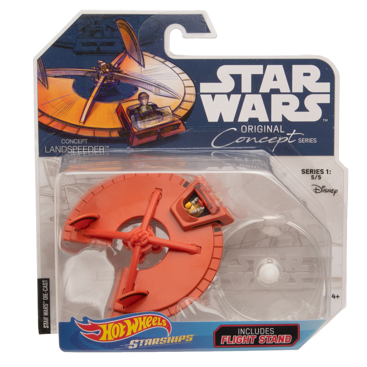 Hot-Wheels-Disney-Star-Wars-Original-Concept-Starships-Diecast-Model-Toys-Stands thumbnail 11