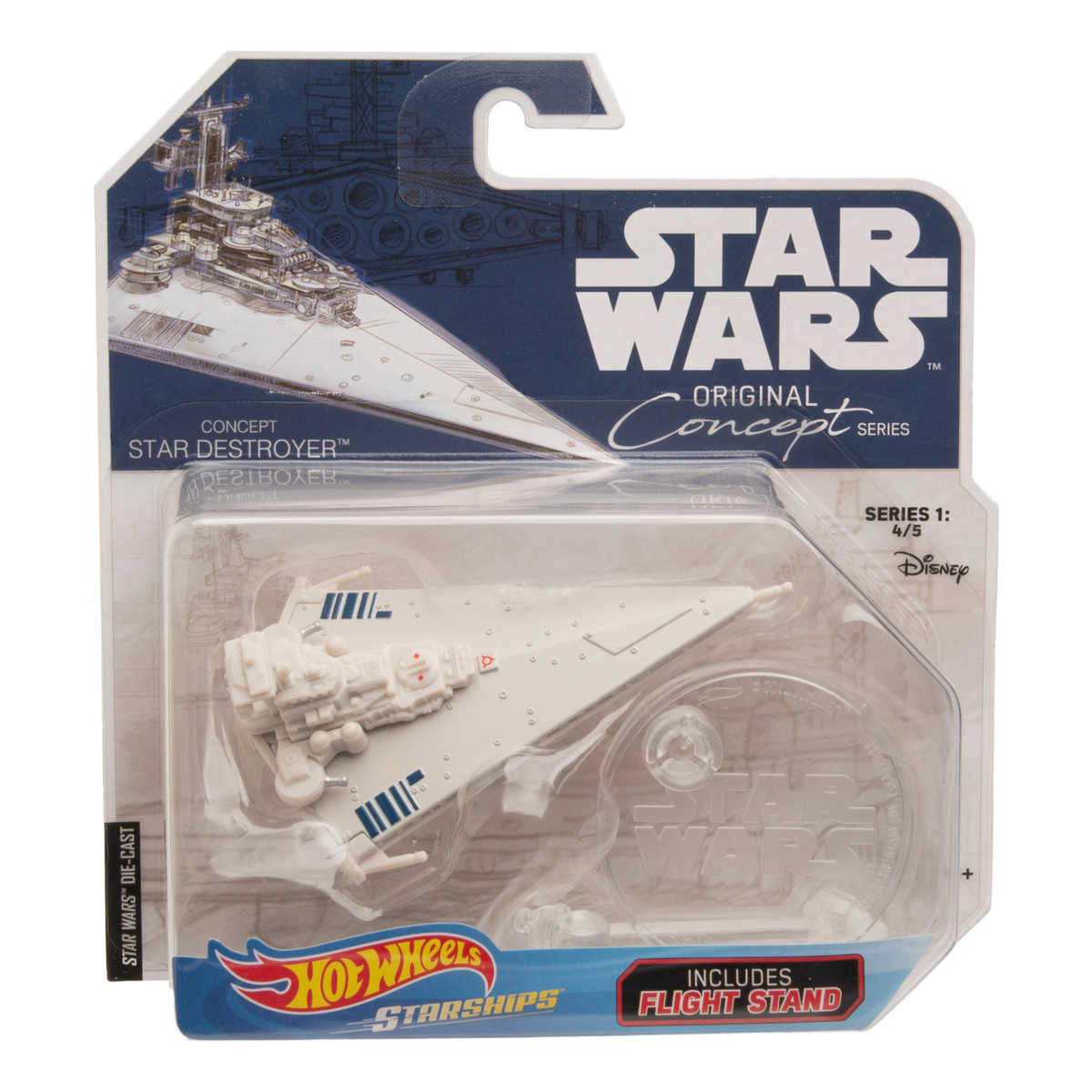 Hot-Wheels-Disney-Star-Wars-Original-Concept-Starships-Diecast-Model-Toys-Stands thumbnail 19