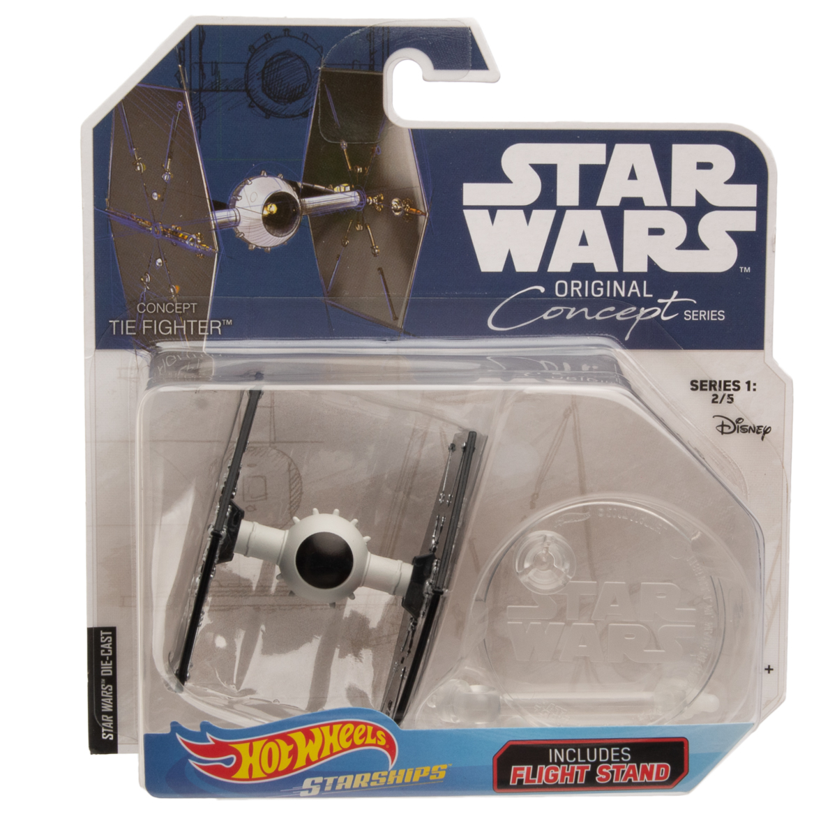 Hot-Wheels-Disney-Star-Wars-Original-Concept-Starships-Diecast-Model-Toys-Stands thumbnail 23