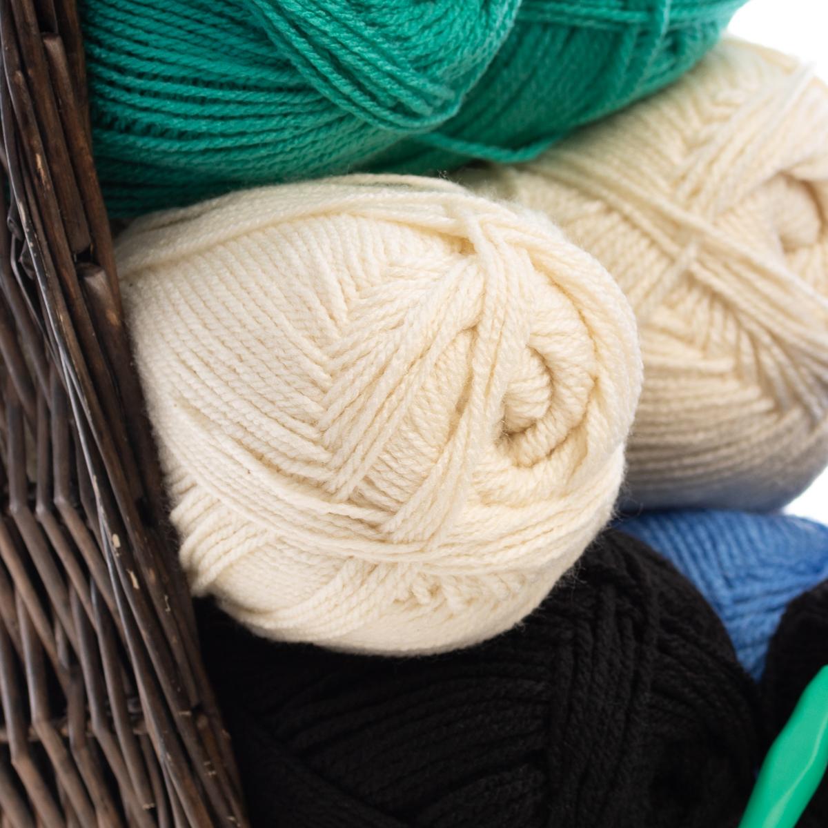 4-Dream-Weaver-Solid-S-Twist-100-Acrylic-Yarn-Skeins-Light-3-Knit-Crochet-Soft thumbnail 9