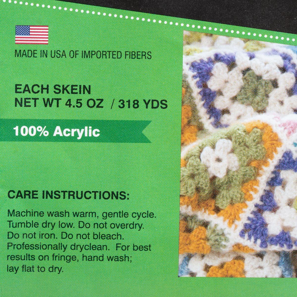 4-Dream-Weaver-Solid-S-Twist-100-Acrylic-Yarn-Skeins-Light-3-Knit-Crochet-Soft thumbnail 11