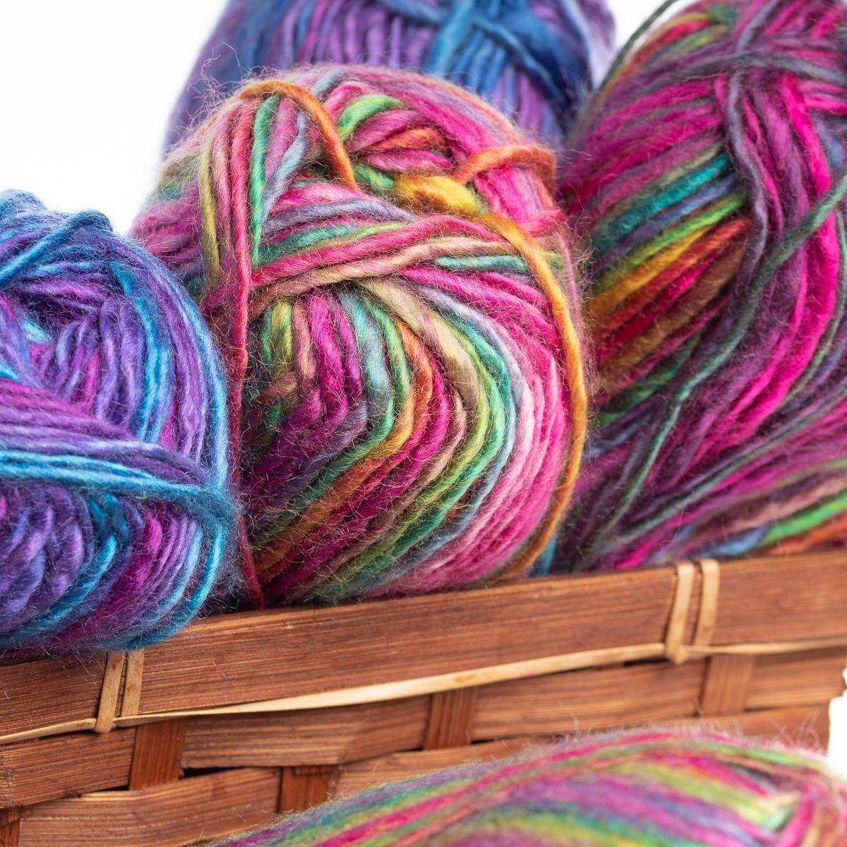 4pk-Dream-Weaver-Variegated-Thick-amp-Thin-Acrylic-Yarn-Light-3-Soft-For-Knitting thumbnail 8