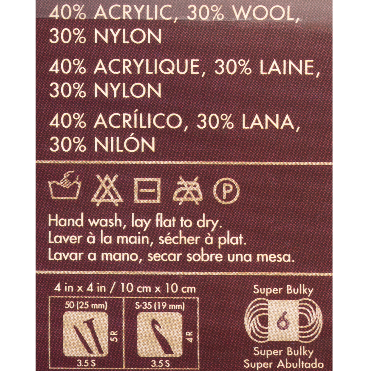 thumbnail 17 - 3pk-Lion-Brand-Imagine-Acrylic-Blend-Yarn-Super-Bulky-6-Knitting-Crochet-Soft