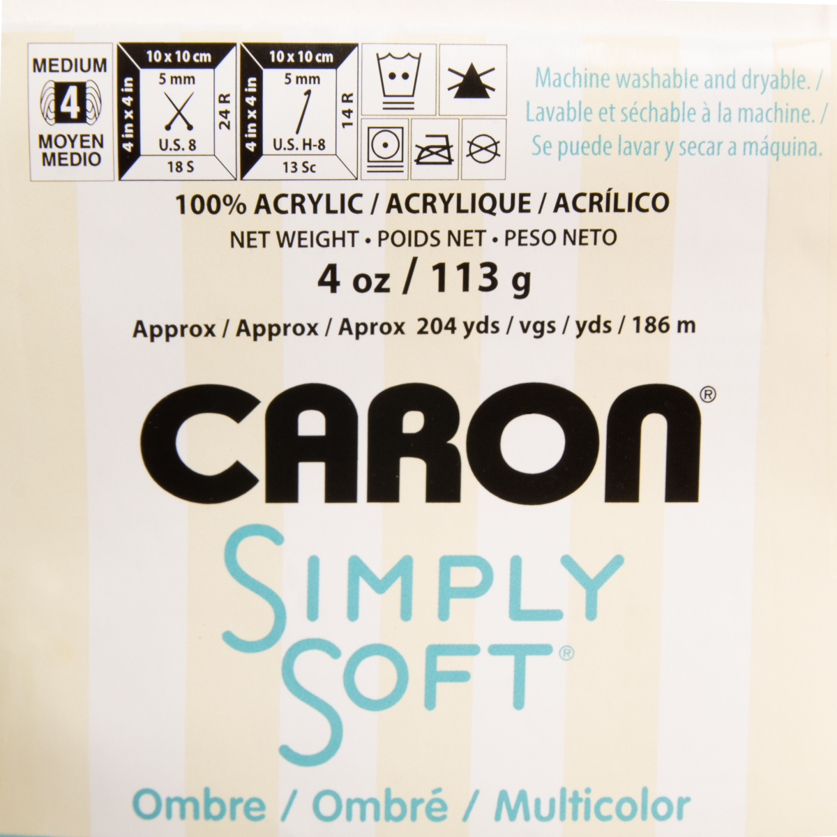 3pk-Caron-Simply-Soft-100-Acrylic-Yarn-Medium-4-Knitting-Crocheting-Skein-Soft thumbnail 10