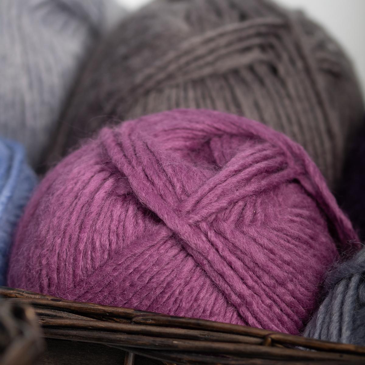 3pk-Lion-Brand-New-Basic-Acrylic-amp-Wool-Yarn-Medium-4-Knit-Crochet-Skeins-Soft thumbnail 74