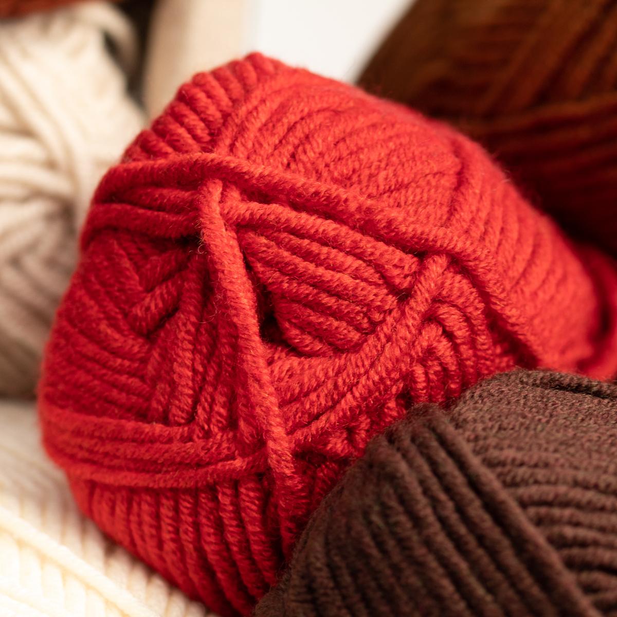 3pk-Lion-Brand-Woolspun-Acrylic-amp-Wool-Yarn-Bulky-5-Knit-Crocheting-Skeins-Soft thumbnail 106