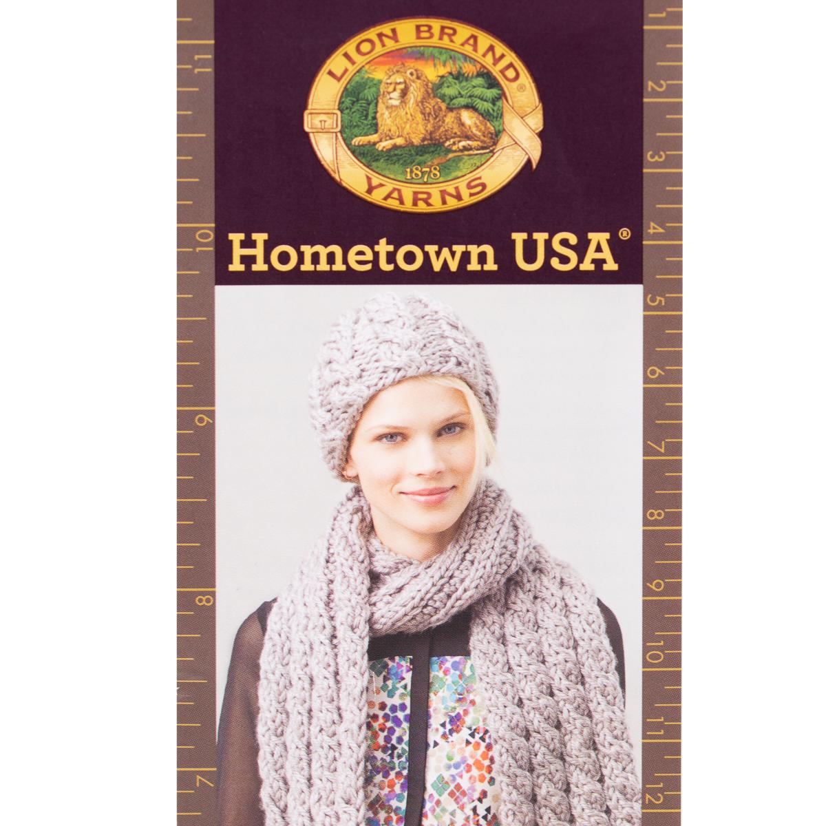 3pk-Lion-Brand-Hometown-USA-100-Acrylic-Yarn-Super-Bulky-6-Knit-Crochet-Skeins thumbnail 11