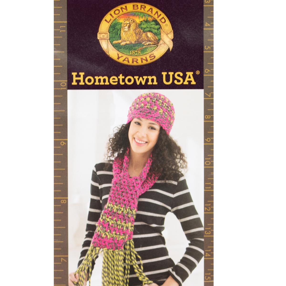 3pk-Lion-Brand-Hometown-USA-100-Acrylic-Yarn-Super-Bulky-6-Knit-Crochet-Skeins thumbnail 13