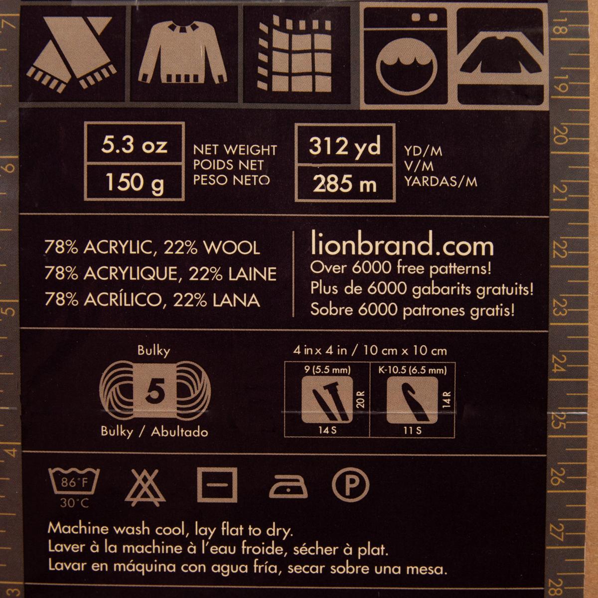3pk-Lion-Brand-Scarfie-Acrylic-amp-Wool-Yarn-Bulky-5-Knitting-Crochet-Skeins-Soft thumbnail 9