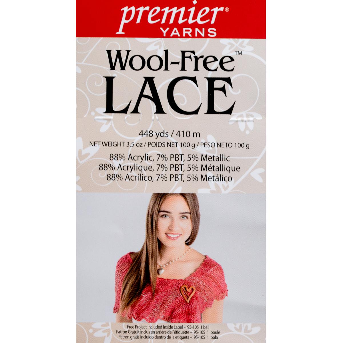 3pk-Premier-Yarns-Wool-Free-Lace-Acrylic-Yarn-Super-Fine-1-Knitting-Skeins-Soft thumbnail 13