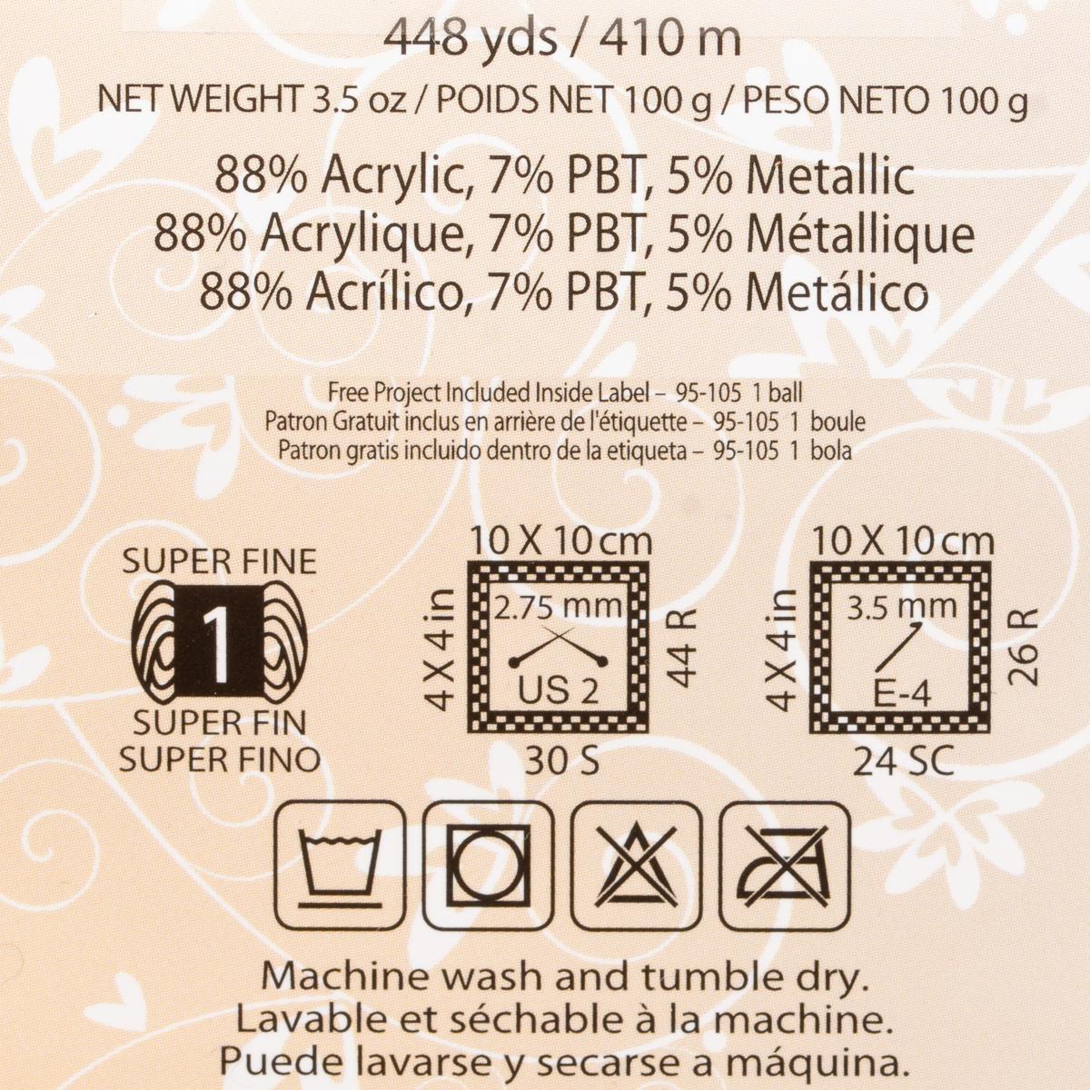 3pk-Premier-Yarns-Wool-Free-Lace-Acrylic-Yarn-Super-Fine-1-Knitting-Skeins-Soft thumbnail 14