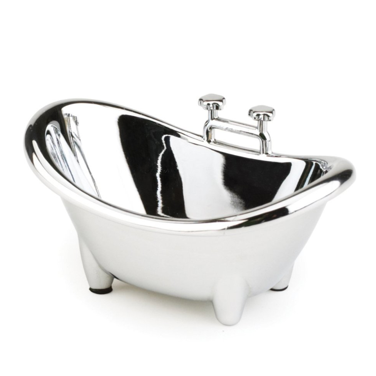 Umbra Muse Chrome-plated Ring Holder Bath Tub | eBay