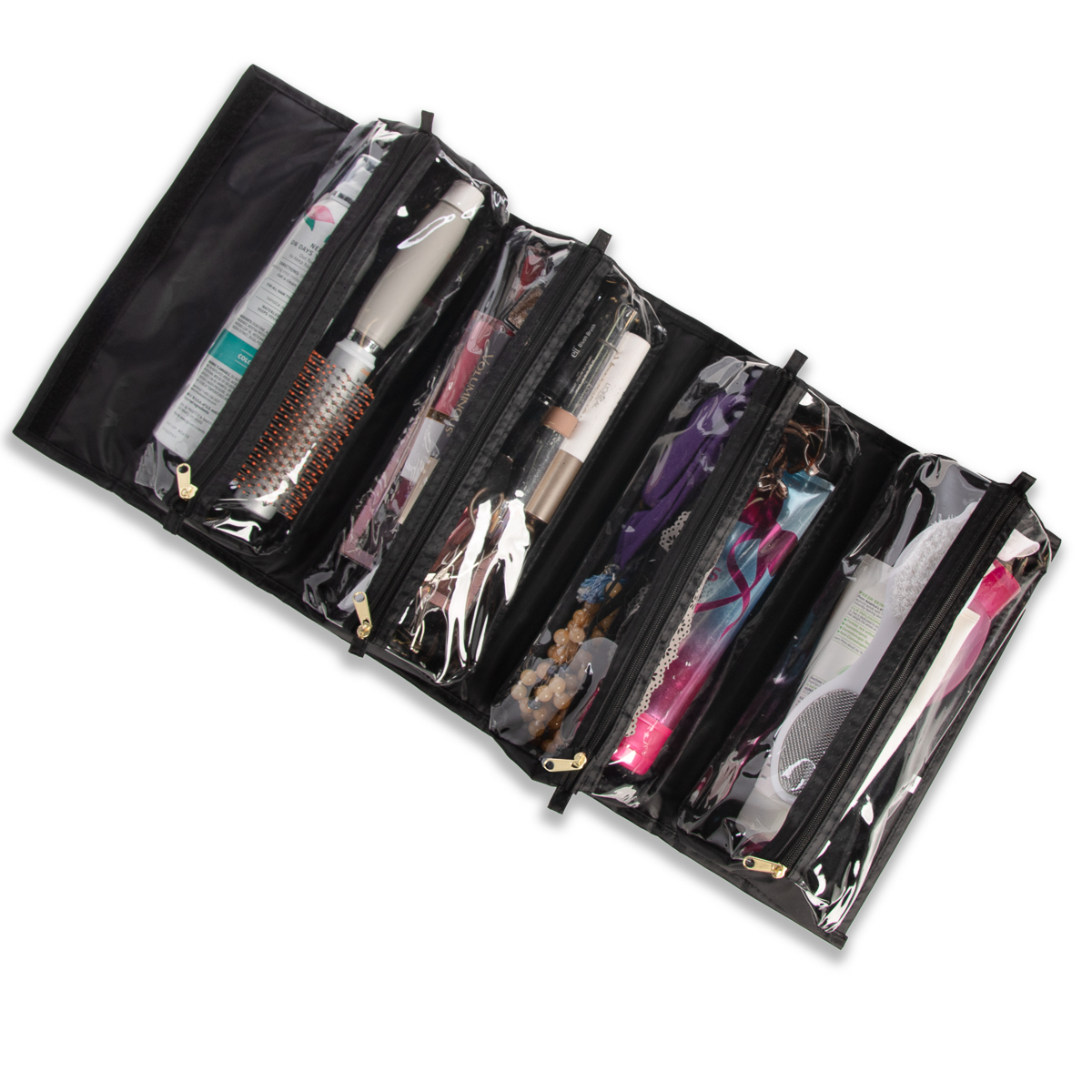 Joy-Mangano-Better-Beauty-Case-Removable-Pouch-Hanging-Cosmetic-Travel-Organizer thumbnail 16