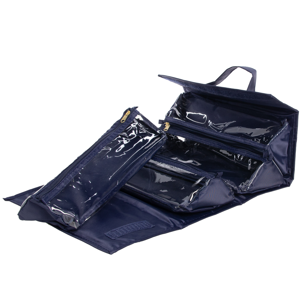 Joy-Mangano-Better-Beauty-Case-Removable-Pouch-Hanging-Cosmetic-Travel-Organizer thumbnail 26