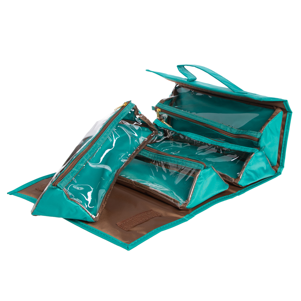 Joy-Mangano-Better-Beauty-Case-Removable-Pouch-Hanging-Cosmetic-Travel-Organizer thumbnail 38