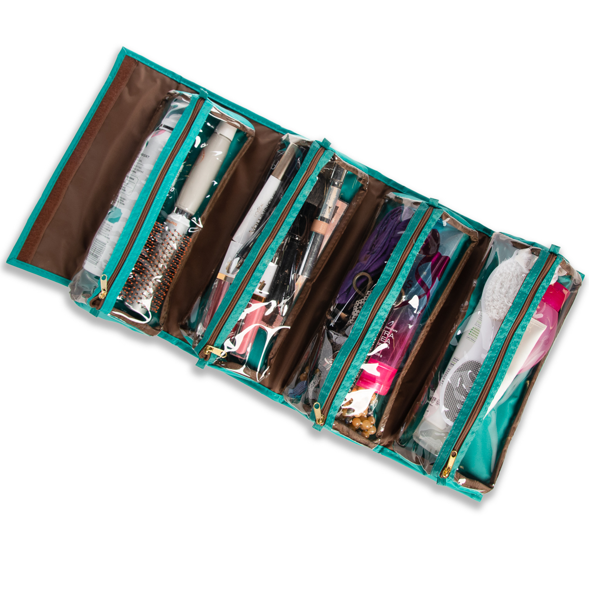 Joy-Mangano-Better-Beauty-Case-Removable-Pouch-Hanging-Cosmetic-Travel-Organizer thumbnail 40