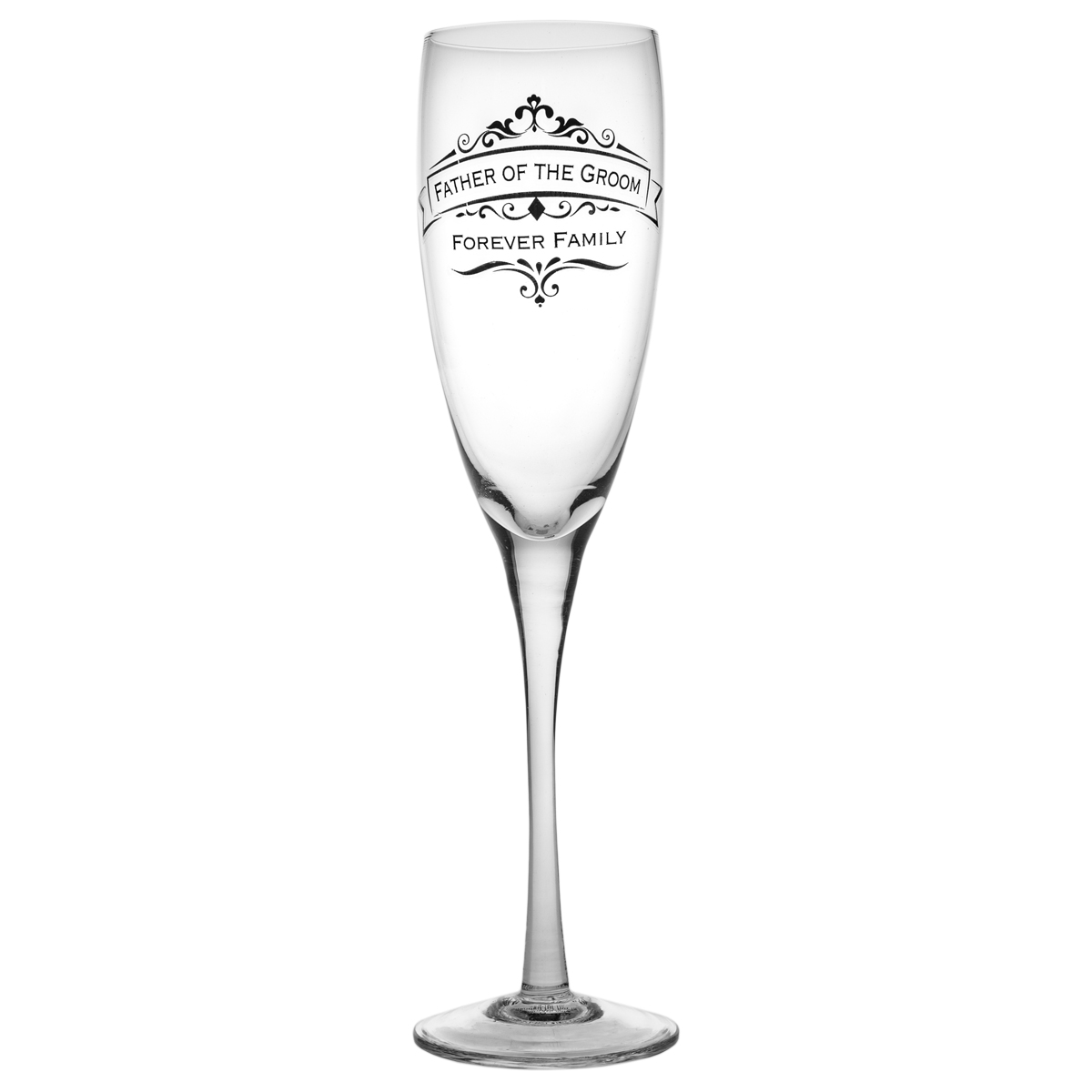 Father-Of-The-Groom-Wedding-11oz-Toasting-Glass-Enesco-Champagne-Flute-Gift-Box thumbnail 2