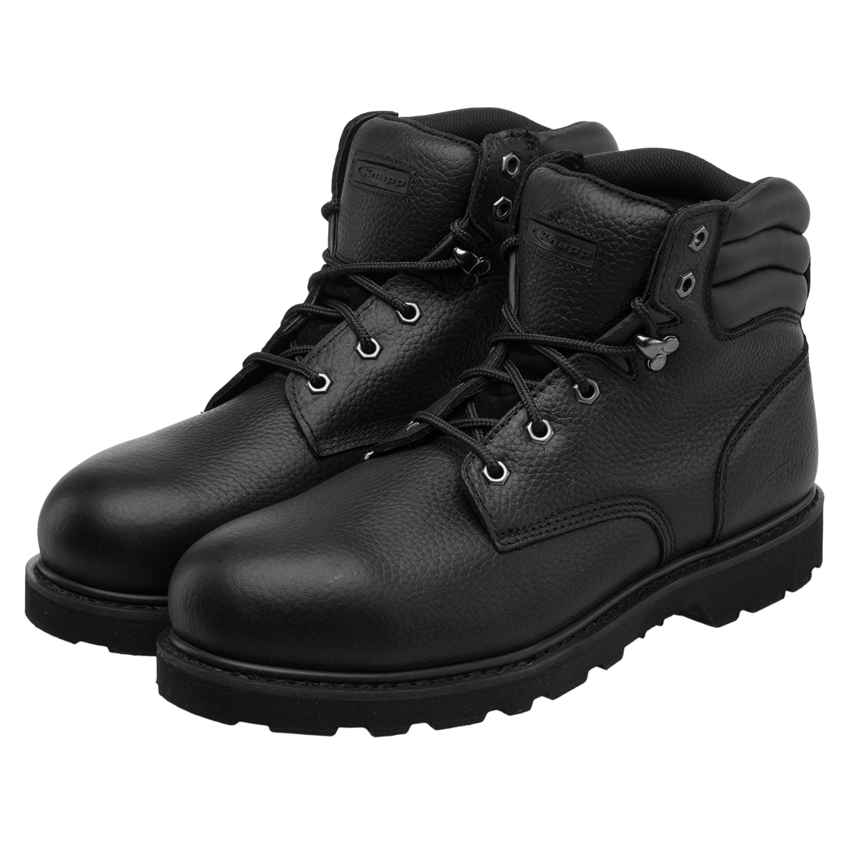 Leather Steel Toe Work Shoes