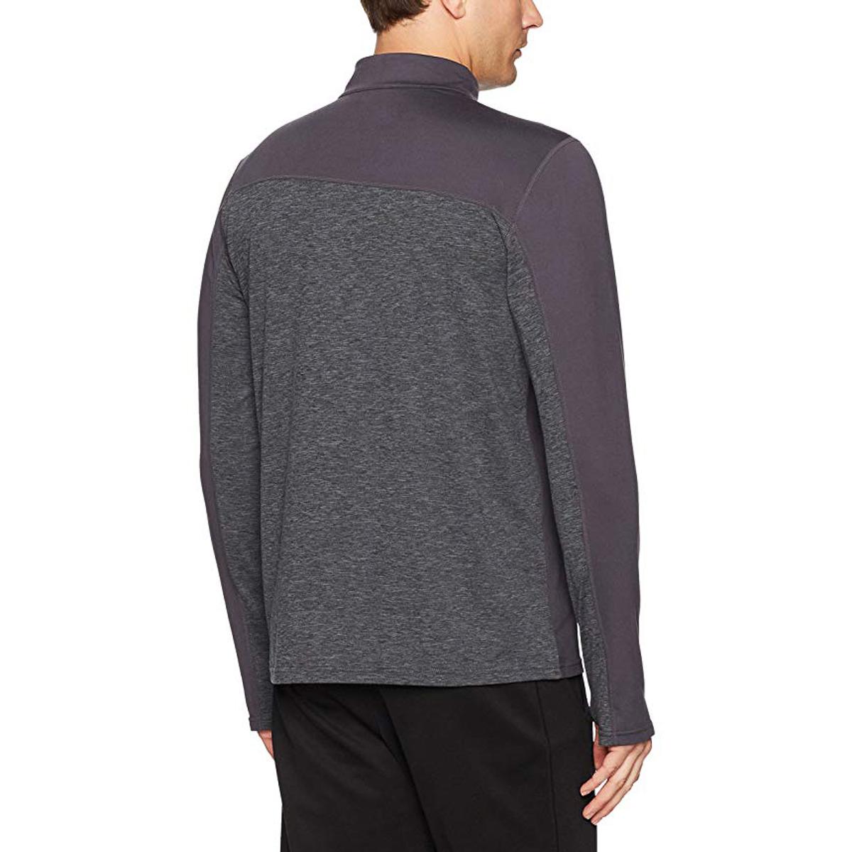 Asics-Sports-Half-Zip-Long-Sleeve-Pullover-Athletic-Men-s-Shirt-Motion-Dry-Tech thumbnail 7
