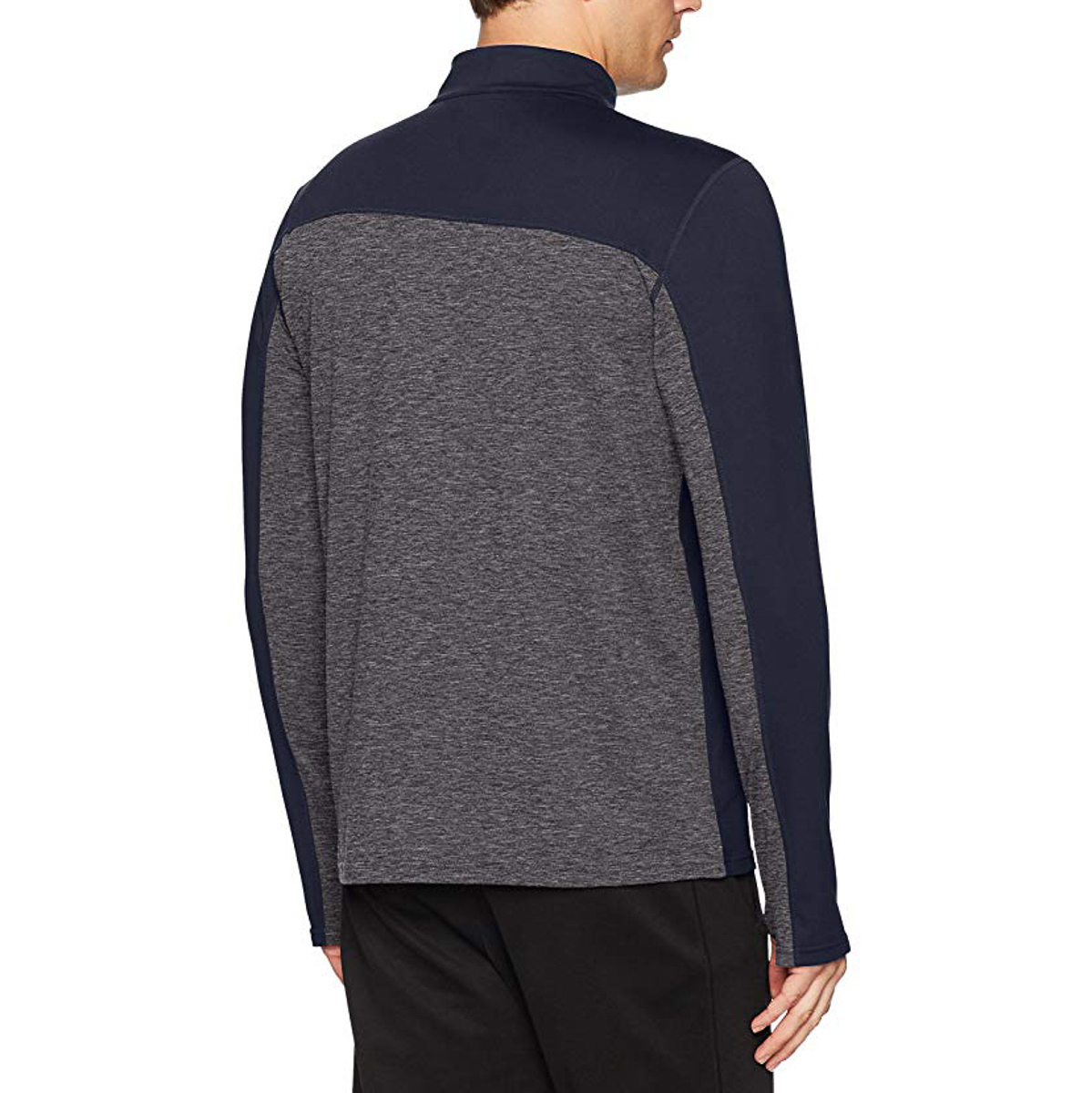 Asics-Sports-Half-Zip-Long-Sleeve-Pullover-Athletic-Men-s-Shirt-Motion-Dry-Tech thumbnail 9