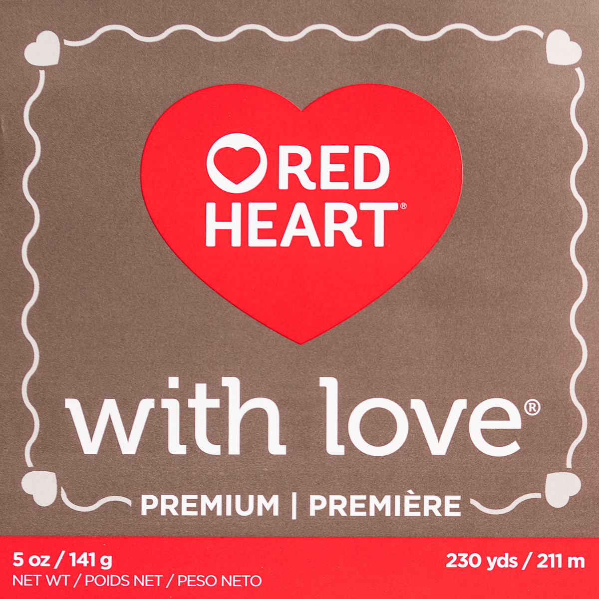 Red-Heart-With-Love-100-Acrylic-Yarn-Knitting-Crochet-Medium-4-Skein-Soft thumbnail 16