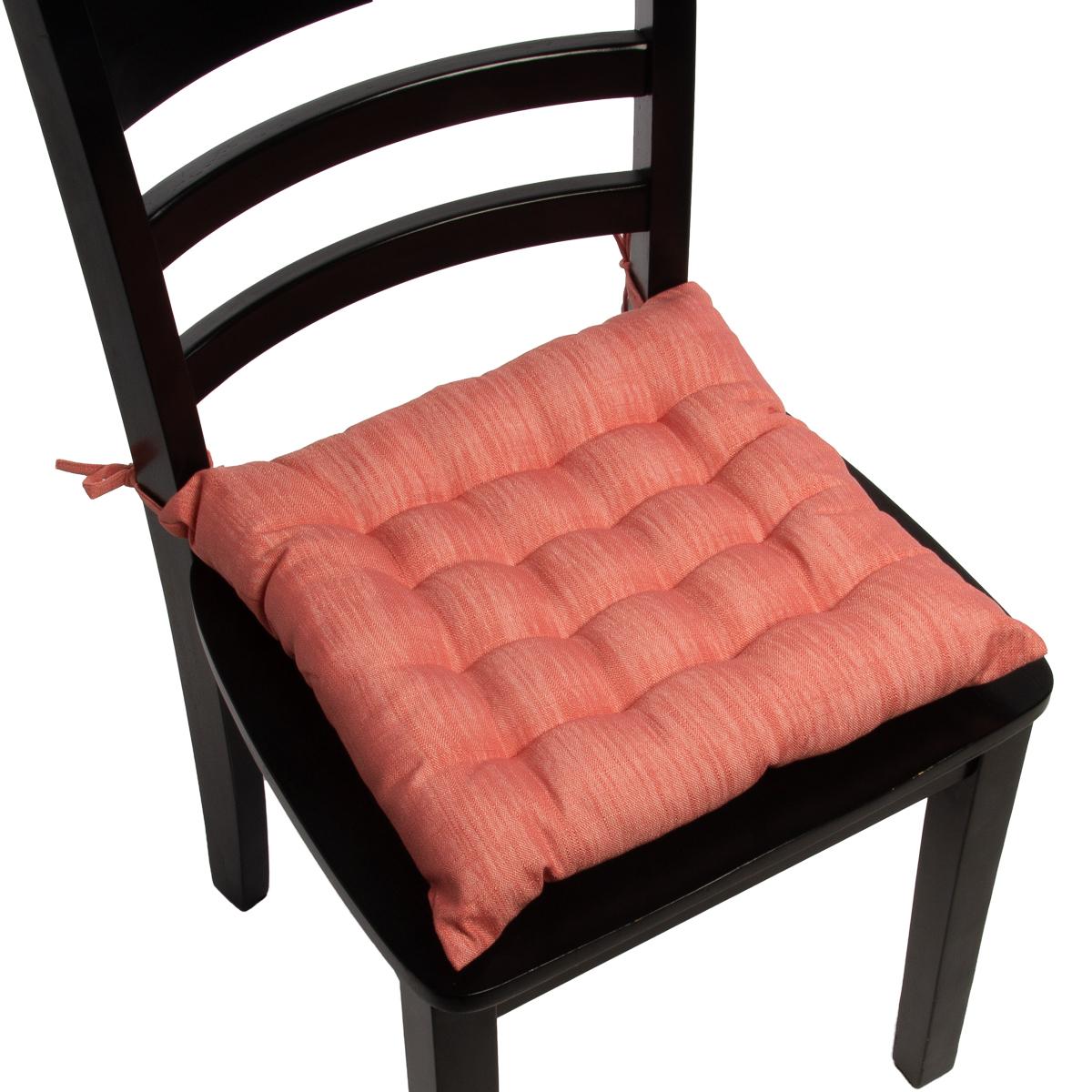 4pk Dream Home Chair Pads Square Tufted Cushion Seat