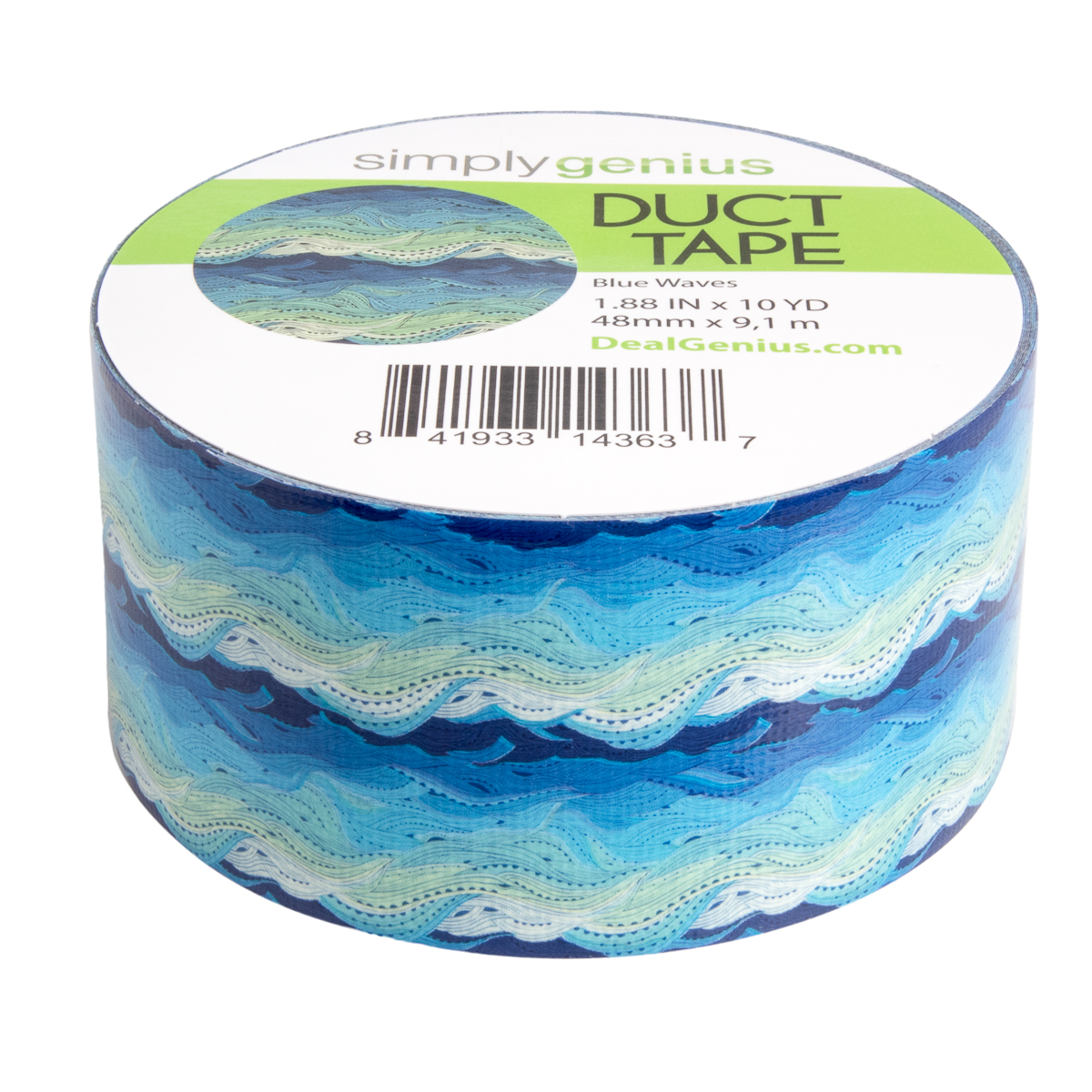 Simply-Genius-Duct-Tape-Roll-Colors-Patterns-Craft-Supplies-Colored-amp-Patterned thumbnail 19